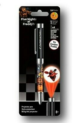 FIVE NIGHTS AT FREDDYS - PROJECTOR INK PEN - BRAND NEW - free shipping