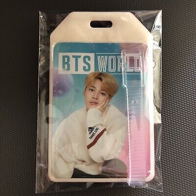BTS World Ost JIMIN Luggage Name Tag Weply Pre Order Benefit Limited Edition