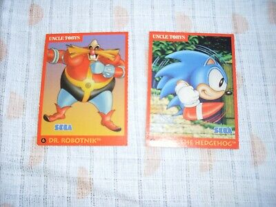 Uncle Tobys sega collector cards