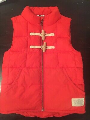 Red Country Road Unisex Vest Size 5