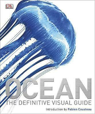 Ocean: The Definitive Visual Guide by Dk Hardcover Book Free Shipping!