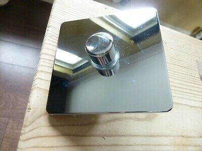 GET ultimate screw less flat plate chrome dimmer