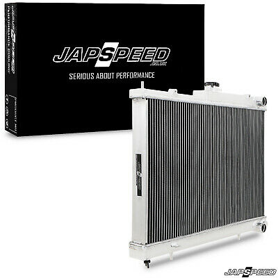 JAPSPEED 42mm ALUMINIUM ALLOY COOLING RADIATOR RAD FOR NISSAN SKYLINE R33 GTST