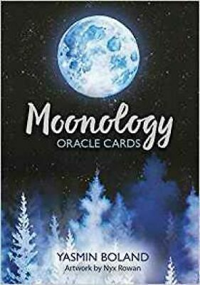 NEW Moonology Oracle Cards : A 44-Card Deck and Guidebook by Yasmin Boland