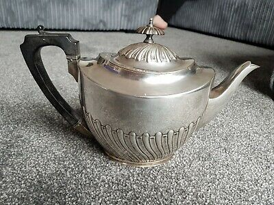Elkington & Co Silver Plate Victorian Teapot dated late 1890s
