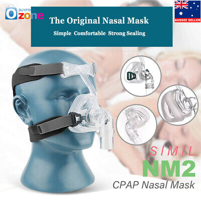 Pro BMC-NM2 Nasal Mask For CPAP Mask Sleep Snore Respirator Strap With Headgear