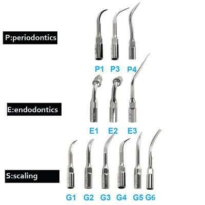 23 Type Dental Ultrasonic Scaler Endo Perio Tip Fit for EMS Woodpecker Brand New