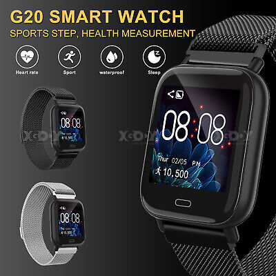 XGODY Fitness Smart Watch Heart Rate Blood Pressure Tracker For Android iPhone