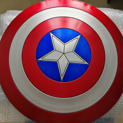 Movie Avengers 3 Captain America Shield 1:1 Full Shield Cosplay Halloween Props