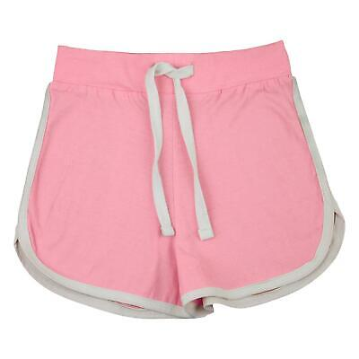 Kids Girls Shorts 100% Cotton Dance Gym Sports Baby Pink Summer Hot Short Pants