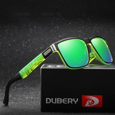 DUBERY Mens Polarized Sport Sunglasses Outdoor Riding Fishing Summer Goggles #mx