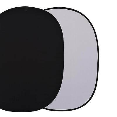1.5m Photo Studio Popup Photography Backdrop Background Oval Panel Screen