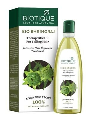 Biotique Bhringraj Hair Oil  200 ml - For Anti Hair fall and Hair Regrowth