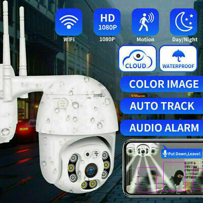 Telecamera Full Hd 1080P 2019 Wireless Ip Ptz Per Videosorveglianza Wifi