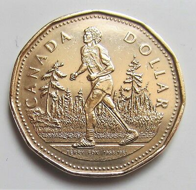 2005 CANADA COMMORATIVE TERRY FOX LOONIE  - combined shipping