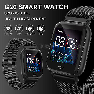 XGODY Fitness Smart Watch Activity Tracker Heart Rate  Monitor For Android iOS