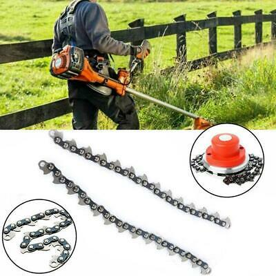 2 Types 65Mn Trimmer Head Coil Chain Brush Cutter Trimmer Grass For Lawn Super