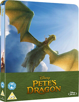 Pete's Dragon - Limited Edition Steelbook (Blu-ray) *BRAND NEW*