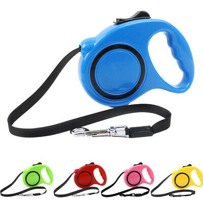 3m Pet Dog Cat Puppy Automatic Retractable Traction Rope Walking Lead Leash