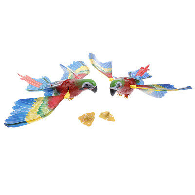 Colorful bird parrot toy electric sound fly wing bird animals toys for kids gRDR