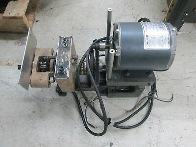 """Procunier Size 1 3/16"""" Steel Tap Capacity 125V 1Ph Tapping Unit W/GE 1/3Hp Drive"""