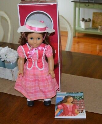 Marie-Grace American Girl Doll with book and box: Retired