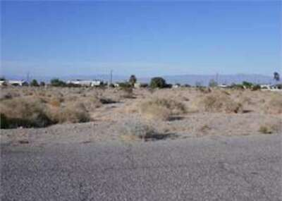 VACANT LAND in SALTON CITY, IMPERIAL COUNTY, CA - Bankruptcy Estate Sale!