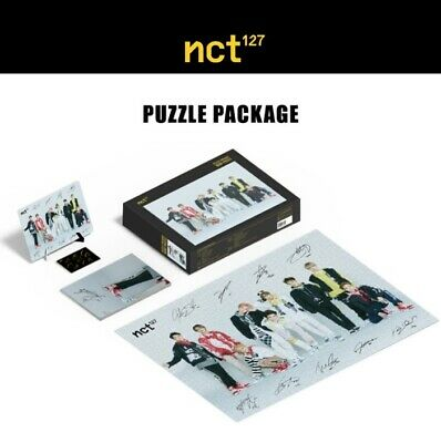 NCT 127 Puzzle 1000 Piece Package SM TOWN Official Goods Photo Frame+Poster+Card