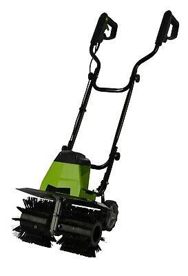 Artificial Grass/ Electric Power Brush/Rake/Broom With Rear Supporting Wheels