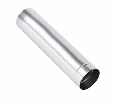 Stainless Steel Matt Flue Liner / Metal Solid Chimney Pipe / Stove Rigid Tube