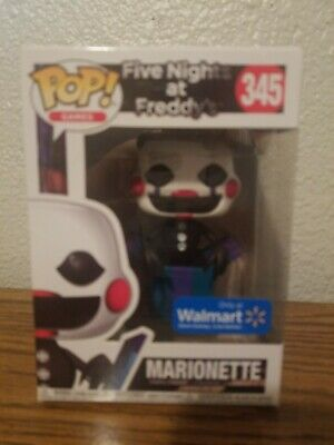Funko Pop! Games: Five Nights at Freddy's Wal Mart Exclusive Marionette