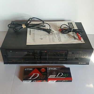 Pioneer Stereo Cassette Tape Deck Model Ct-1170W Working Wow!!!