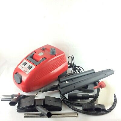 Polti Vaporetto 2400 Steam Cleaner Working With Accessories