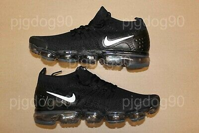 Men's Nike Air VaporMax Flyknit 2 v2 Size 11 Black White Vapor Max