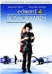 Edward Scissorhands (DVD, 2005, Full Screen Anniversary Edition Bilingual) NEW