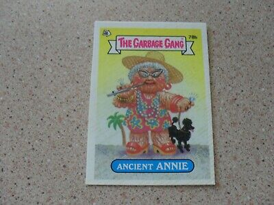 The Garbage Gang series 2 (AUS series) 78B ANCIENT ANNIE (puzzle back)