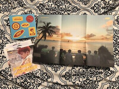 Ateez Ep. 3 Treasure Wave Inclusions - Poster, Stickers, Member Cards