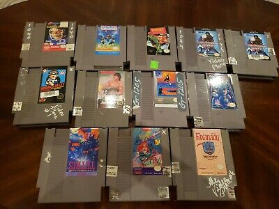 NES Game Lot of 12 including Tecmo, Faxanadu, and more!