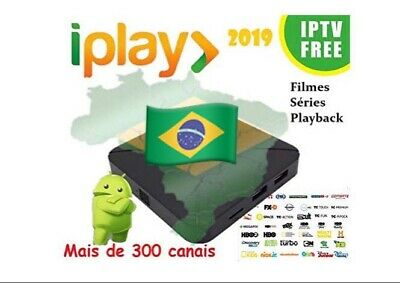 IPLAY 2019 IPTV Brazil, 4K Ultra HD with more than 300 channels, Movies,Playback