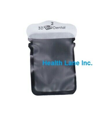 3D Dental Visionary Premium Phosphor Plate Barrier Envelopes #0, 1, 2 Box/300