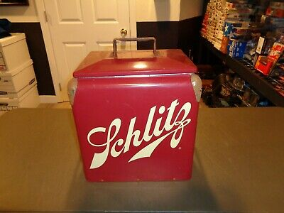 VINTAGE BEER COOLERS metal icehouse cooler ice chest