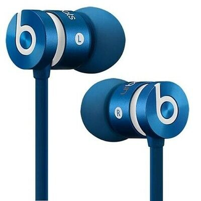 New Genuine Beats by -Dr Dre iBeats urBeats In Ear Headphones Earphones Blue UK