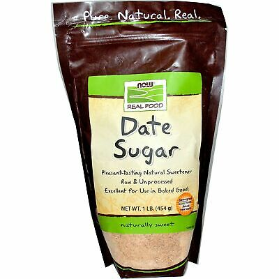 Now Foods, Real Food, Date Sugar, 1 lb (454 g)