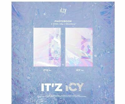 ITZY - IT'Z ICY [IT'Z ver. / ICY ver.] + Poster + gift (photo card)