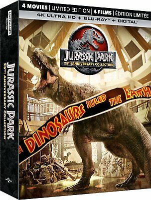 Jurassic Park 25th Anniversary Collection (4K UHD + Blu-ray) *BRAND NEW*