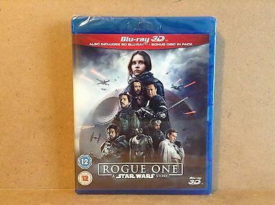 Rogue One: A Star Wars Story (Bluray 3D + Bluray)