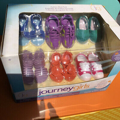 Journey Girls Fashion Shoe Pack