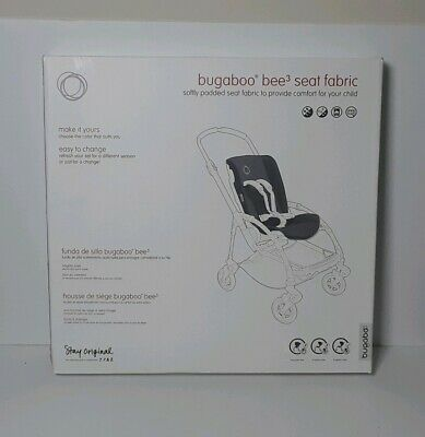 Bugaboo Bee3 Seat Fabric Softly Padded Seat Fabric To Provide Comfort - Black