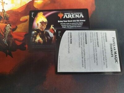 MTG Arena Core Set 2020 Chandra Planeswalker Deck EMAIL CODE ONLY M20