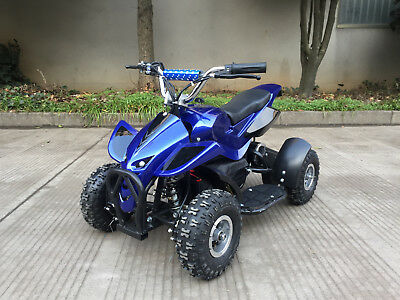 49cc 500w electric power ATV quad bike auto, speed governor,black,red, blue,pink